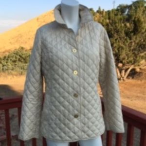 C WONDER CHAMPAGNE QUILTED SNOW JACKET SIZE S